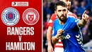 Rangers 1-0 Hamilton | Candeias Strikes to Send Rangers Top! | Ladbrokes Premiership