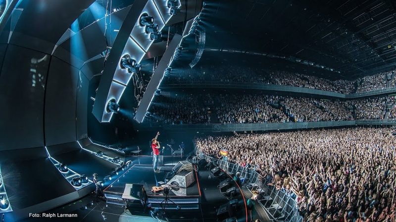 Ed Sheeran Divide Tour 2018: Sound System Design and FoH sound for his support Jamie Lawson