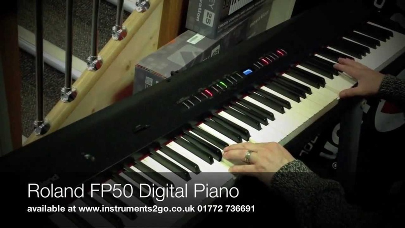 Roland FP50 Digital Piano Demonstration