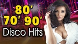 Mega Disco Dance 70 80 90s Old Songs - Best Oldies Disco Music Legends - Disco Hits 70s 80s 90s