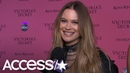 Behati Prinsloo Is The Cutest Talking About Having Adam Levine's Support At Her VS 2018 Show | Acces