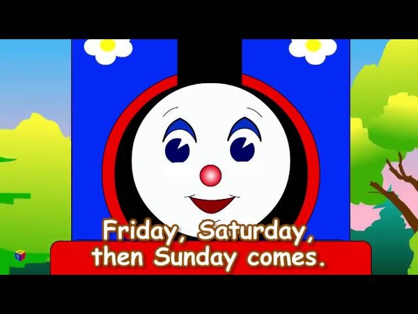 Мультик на английском Песенка про дни недели ong for kids Educational cartoongw0LOVU8EYo