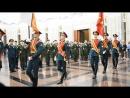 Вынос знамени на присяге,у Назара Петровича.