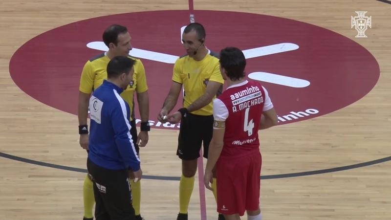 Liga Sport Zone, 16.ª jornada: SC Braga/AUM 0-0 Futsal Azeméis
