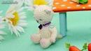 Амигуруми: схема Зайчик и Киска. Игрушки вязаные крючком - Free crochet patterns.