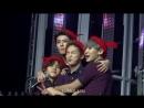 160124 exo'luxion in manila xiumin baekhyun chanyeol and sehun cute moment