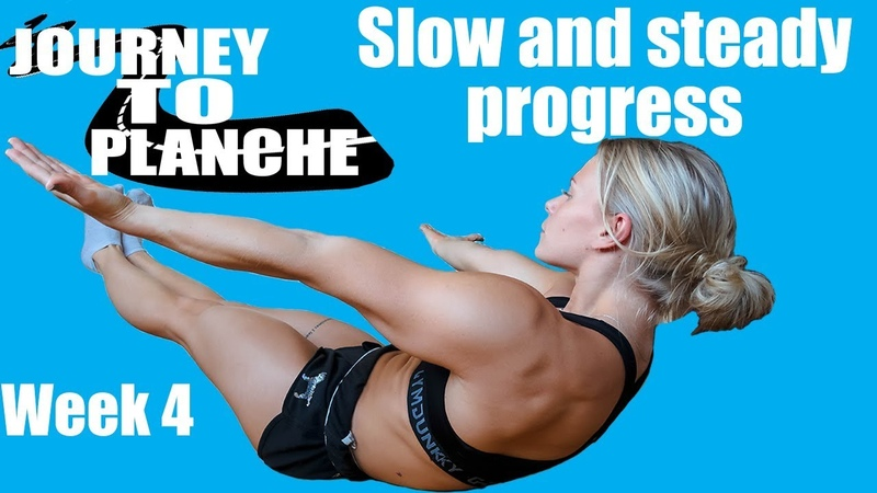 Calisthenics Planche Workout -Journey To Planche Week 4