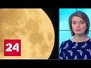 Редкое астрономическое явление над Москвой взошла кровавая Луна Россия 24