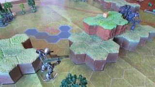 Батлрепорт - битва среди холмов / варгейм