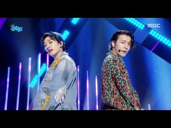 [Comeback Stage]SUPER JUNIOR-DE - Bout you , 슈퍼주니어-DE - 머리부터 발끝까지 Show Music core 20180818