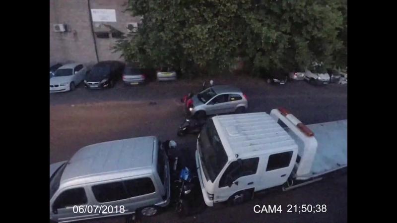 Motorcycle Theft Karma ViralHog