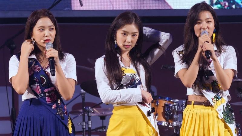 180916 레드벨벳 Red Velvet 아이린 IRENE 토크 Talk 직캠 @ 어제그린오늘 뮤직 페스티벌 by Spinel