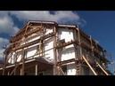 Начаты работы по утеплению и отделке фасадов пенопластом ППС-16Ф 120мм, EIFS