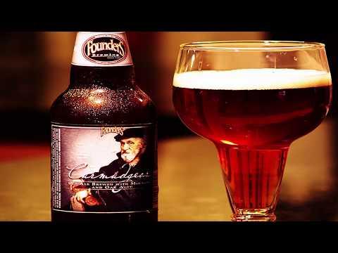 Дегустация пива Curmudgeon Old Ale от пивоварни Founders 110