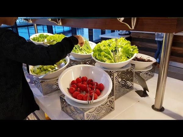 Батуми отель Эйфория. Завтрак. Часть 3.