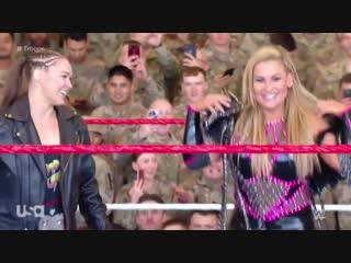 тт-18 | Ронда Роузи и Наталья против Наи Джекс и Тамины против Лив Морган и Сары Логан