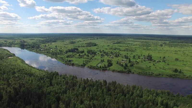 Бережная Дуброва с высоты 140 метров