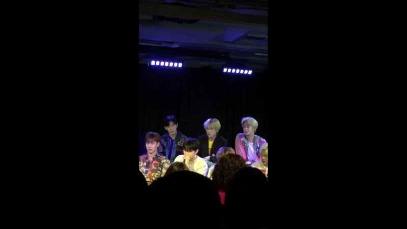 [FC VK][14.08.2018] Monsta X Teach Jojo Their Dance Moves, Talk Michael Jackson, Seeing Ghost More!