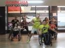 Zumba Chile en silla de ruedas junto a Rodrigo Diaz