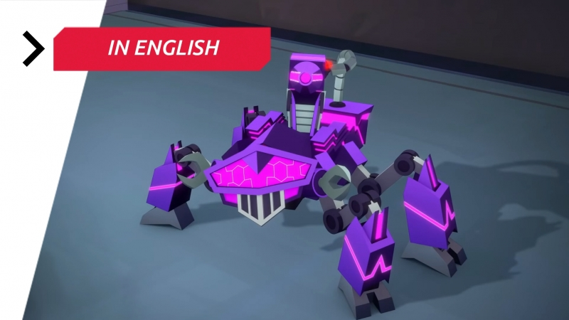 Transformers: Cyberverse — Chapter 1 Episode 6 «Megatron Is My Hero» 1080p Full HD