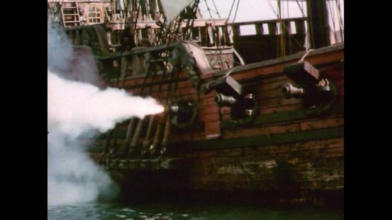 Абордажный бой между судном Лавасера и голландским судном