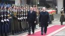Церемония официальной встречи Президента Азербайджана прошла во Дворце Независимости