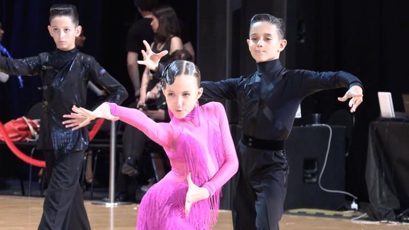 Кульпин Никита - Сурнакова София, Rumba   ВС Юниоры-1 Латиноамериканская программа