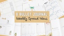 8 Bullet Journal Weekly Spread Ideas - Weekly Plan with Me Stationery Island