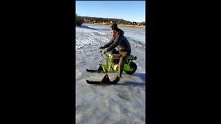 Обзор Мото сани snow hulk тянут авто
