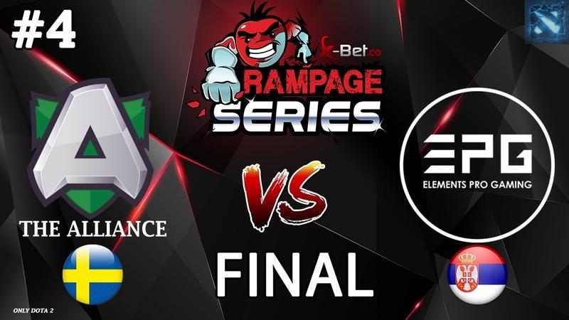 Alliance vs EPG 4 BO5 GRAND FINAL X Rampage Series 2