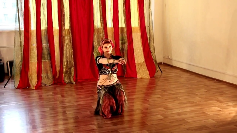 Alya - Sirin Tribe - tribal fusion @ Home Party Sirin Tribe
