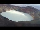Вулкан малый семячик и кислотное голубое озеро