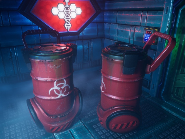 бочки в ремейке System Shock