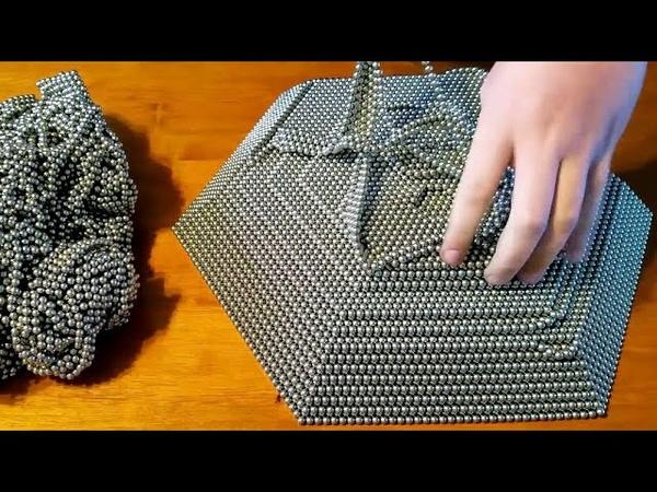 REVERSE Zen Magnet Pyramid 50,000 Buckyballs Magnetic Balls Neodymium Magnets Oddly Satisfying