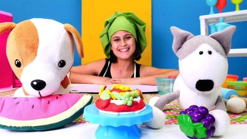 Ayşe ile hamur oyunları. Şila için doğum günü pastası yapalım
