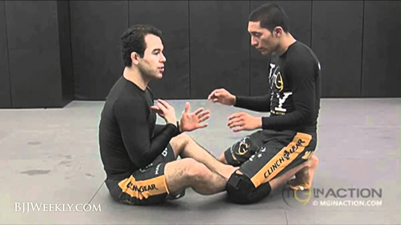 Marcelo Garcia - Butterfly Sweep from Open Guard - BJJ Weekly 069