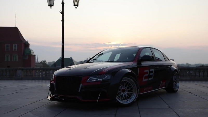 CRAZY PROJECT! AUDI A4 B8 DTM - From a FWD 2.0TDI into a V8 quattro MONSTER - Do.mp4
