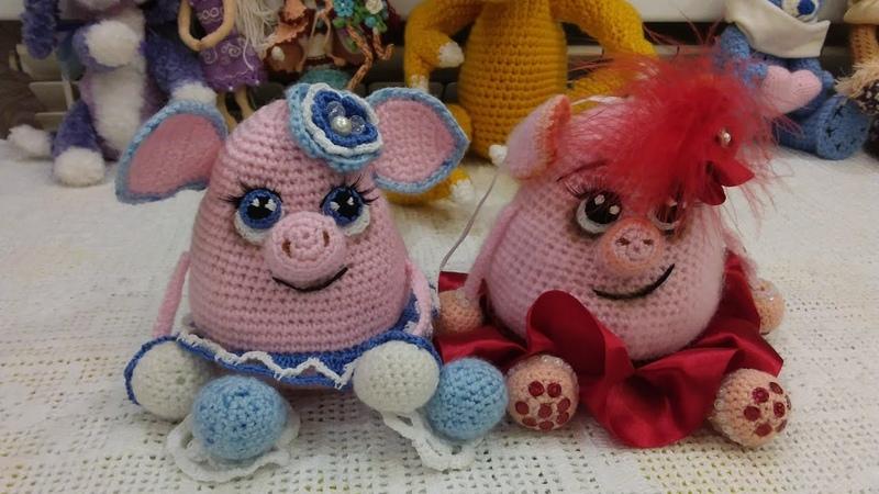 Вязание.Руковицы орнаментом снятых петель.Вязанная милота игрушек и салфеток.