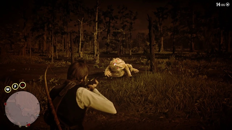 Red Dead Redemption 2 Легендарный Алигатор