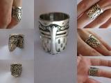 Перстень кельтский орнамент .Есть в наличии Видео с логотипом группы