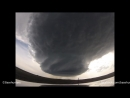 5-18-14 Wright to Newcastle, WY Supercell Time-Lapse