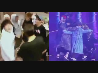 years passed by and they're still the same 7 boys who used to share a room and a dream @BTS_twt