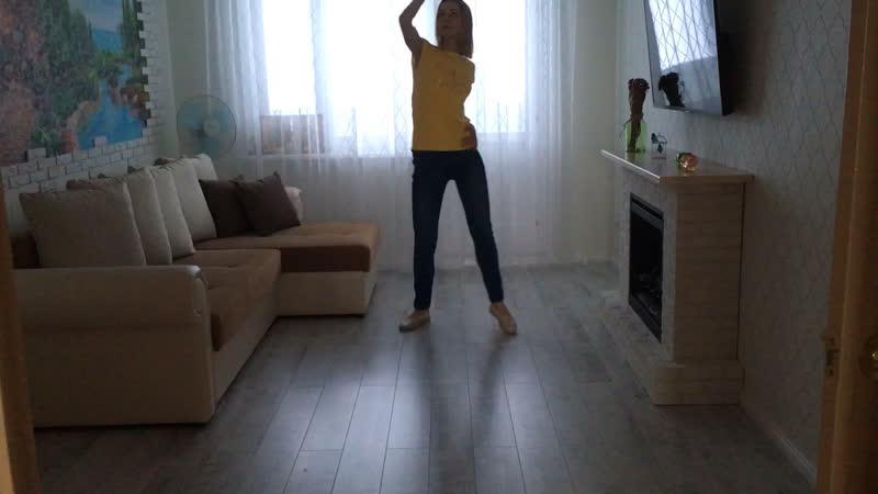 Танец от DanceFit в моем исполнении
