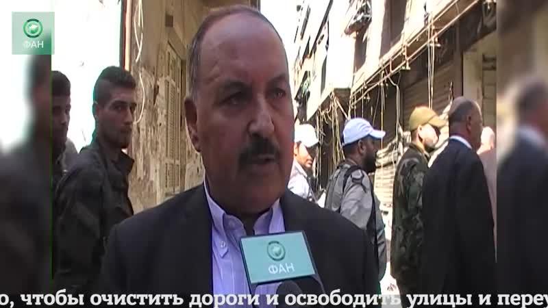 Сирия: палестинский чиновник рассказал ФАН о восстановления лагеря Ярмук
