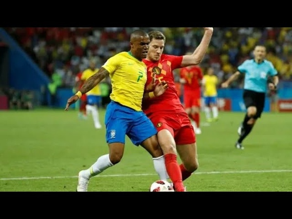 Douglas Costa vs Bélgica Copa do Mundo 2018 HD 1080p 06 07 2018