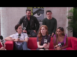 Riverdale Cast on Season 3, Character Deaths  More! - Comic-Con 2018 - MTV