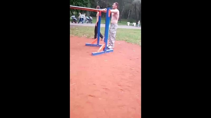 Тренировка в Парке Культуры и отдыха г. Новополоцк