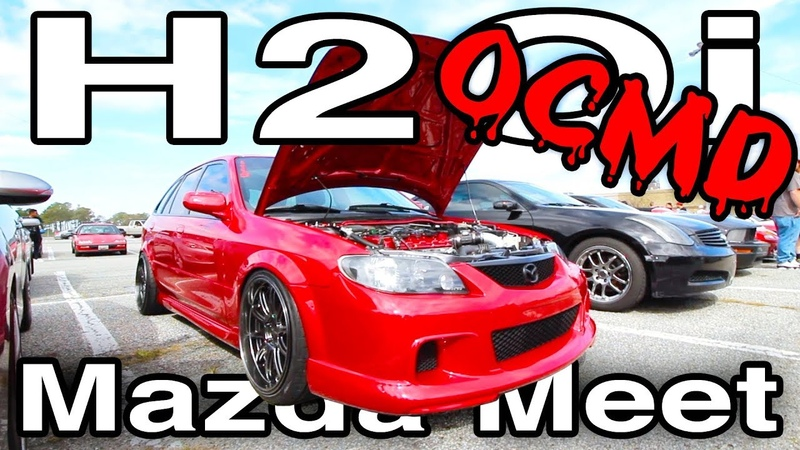 H2Oi OCMD [MG Builds, Widebody Mazdaspeed Protege5 Reveal Pop-Up Mazda Meet!]