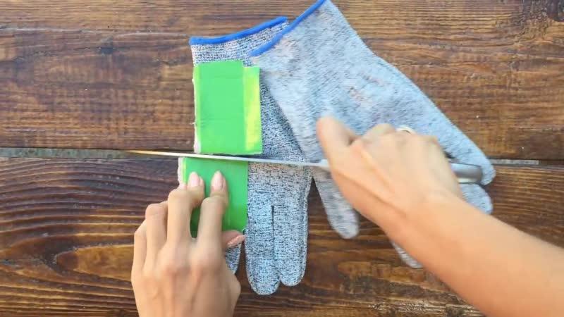 Кевларовые перчатки w090 Обзор-1