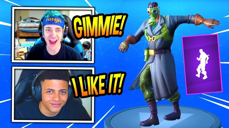 NINJA MYTH REACT TO *NEW* POP LOCK EMOTE/DANCE! *EPIC* Fortnite FUNNY SAVAGE Moments